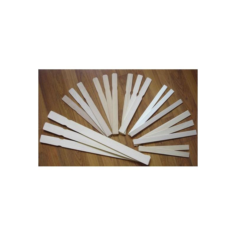 mélange bâton en bois (x5 )