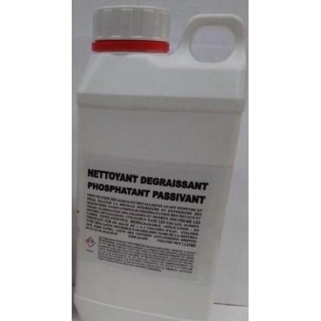 Derouillant phosphatant pour acier