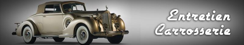 Entretien carrosserie véhicules anciens – Produits pour carroserie voitures de collection