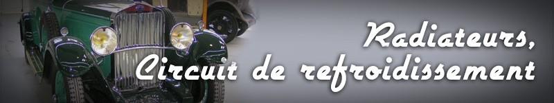 Restauration radiateurs auto - circuits de refroidissement voitures, dérouillant phosphatant